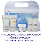 Reiseset /Fluid,Tonic,Sun Creme,Hyaluronic Creme, Body Emulsion;