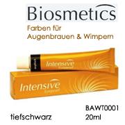 Augenbrauen & Wimpernfarbe tiefschwarz, 20ml