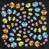 3-D Sticker Schmetterling