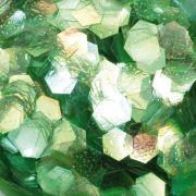 Hexagonal Design grün